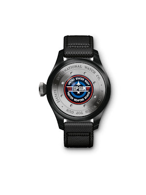 919b3150abb Chegado ao mercado - relógio IWC Grande Relógio Aviador Calendário Perpétuo  TOP GUN