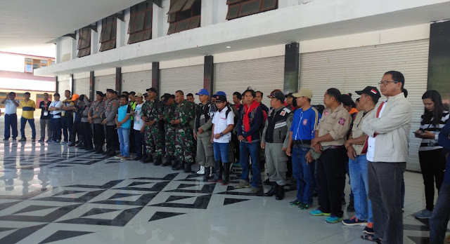 Hindari Penjarahan, TNI/Polri, Kawal Ketat Kloter II Logistik Pemda Tana Toraja Menuju Palu