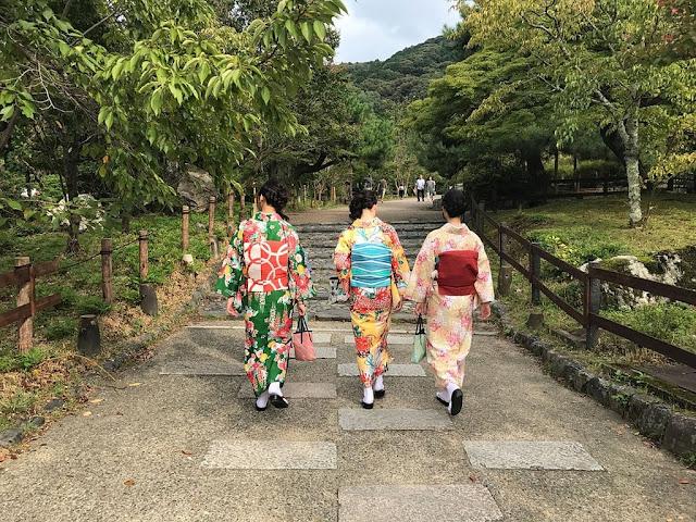 Jepang Unik Kimono