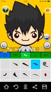 aplikasi membuat karakter 3d android