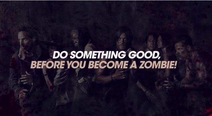 zombies  camapaña publicitaria
