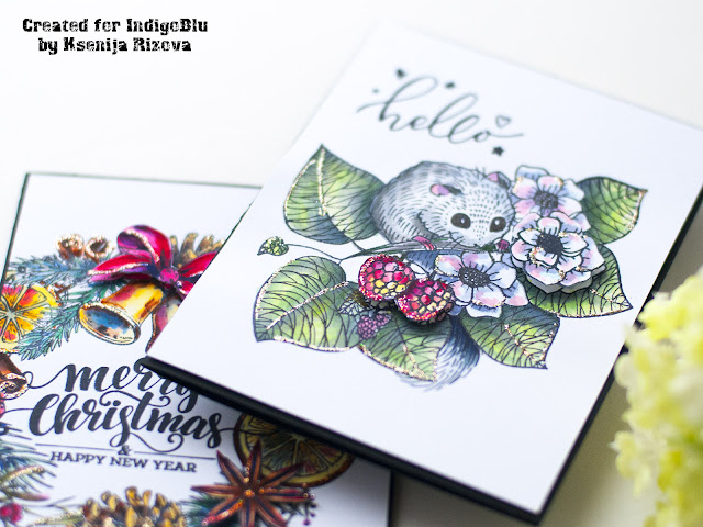 Best Way to Add Dimensional Details to Watercolored Hand-Made Cards
