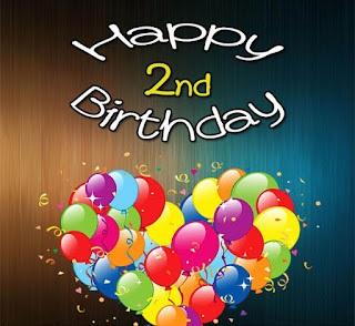 Happy 2nd Birthday Wishes Princess, Girl, Boy