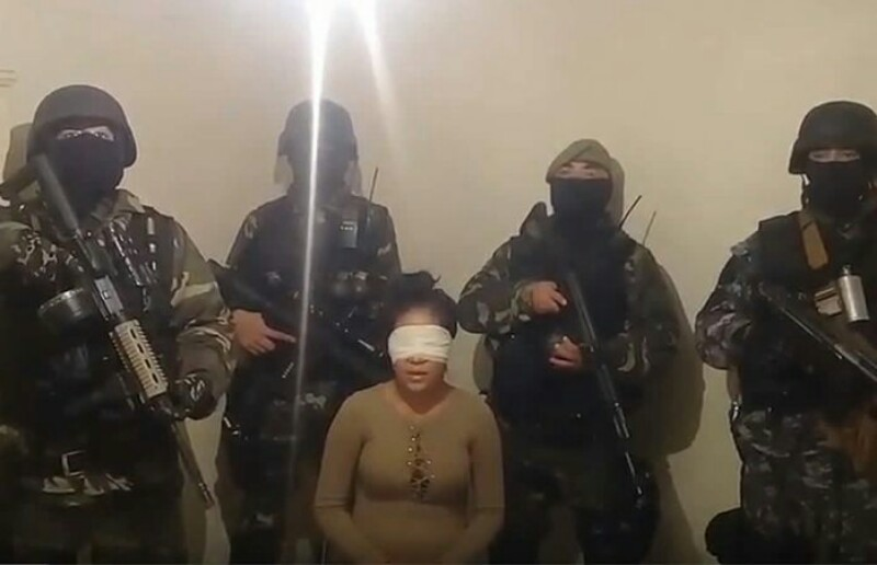 VIDEO, Comandó armado interroga a mujer que incrimina a Gobernador de Chihuahua Javier Corral