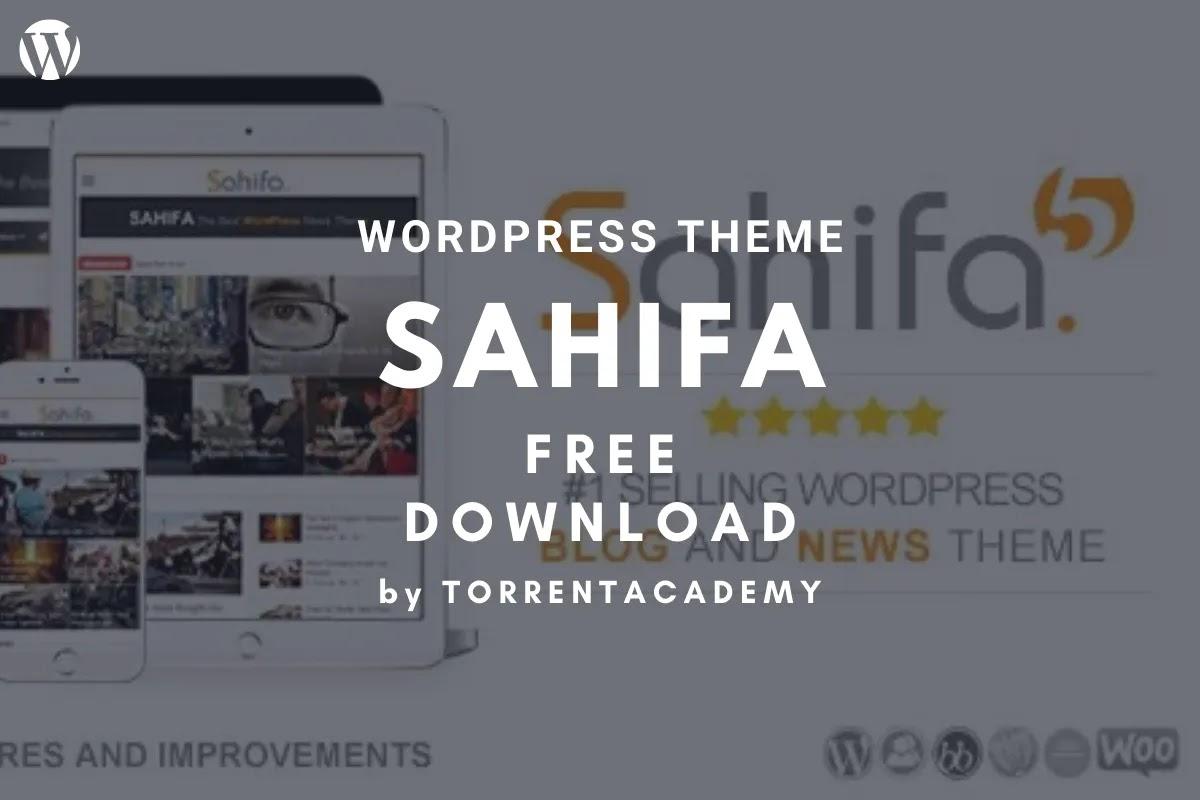 Sahifa news WordPress Theme free download