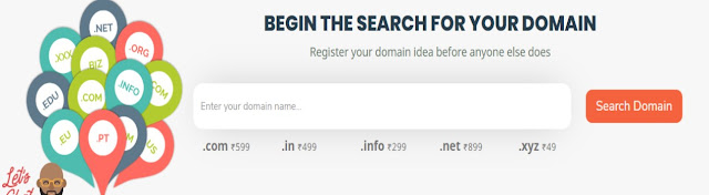 Cheapest Domain name registration .xyz just @ 49 rupees