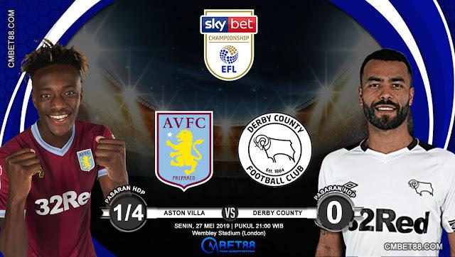 Prediksi Bola Aston Villa VS Derby County