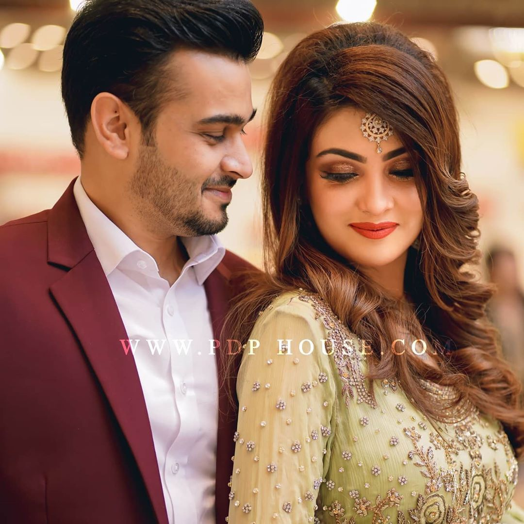 Actress Alizeh Tahir with her Husband New Awesome Pictures