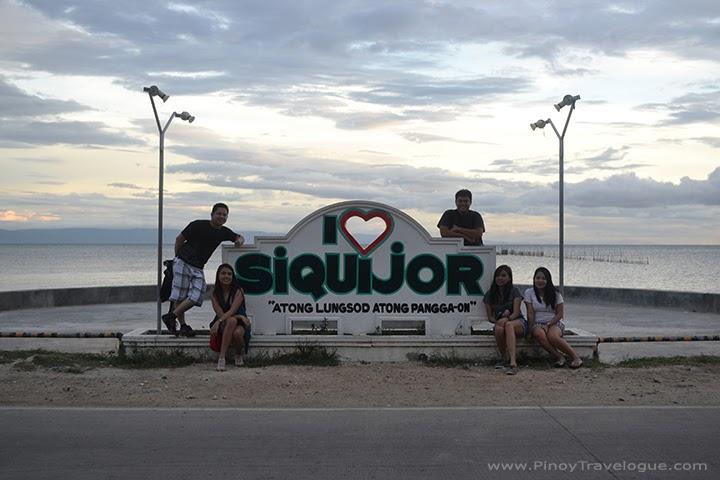 I Love Siquijor signage
