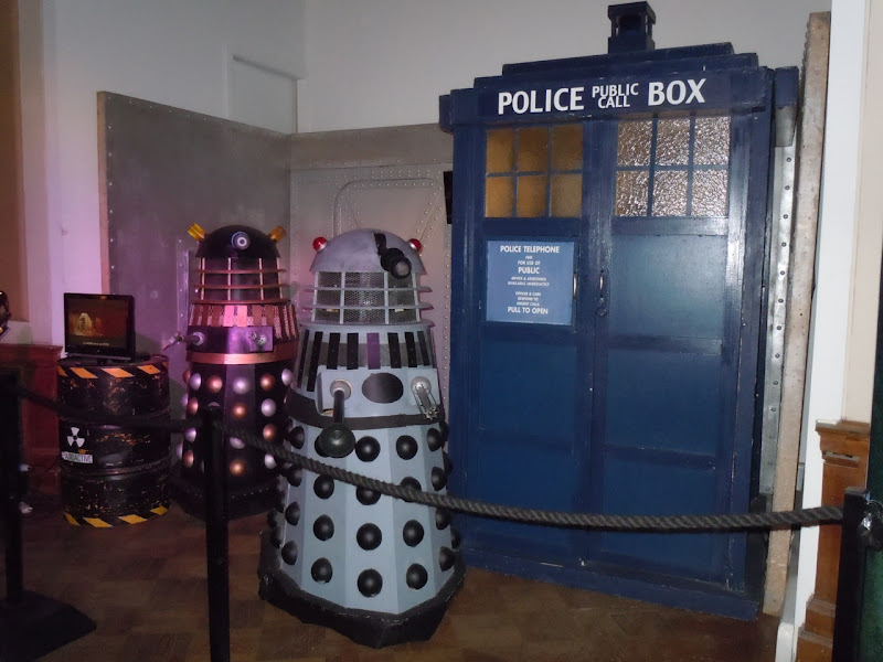Dr Who and the Daleks Tardis prop