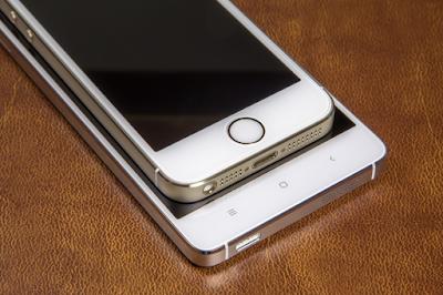cung danh gia san pham   Xiaomi Mi4 và iphone 5s