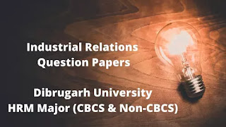 Industrial relation question papers