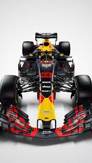 Red Bull Racing F1 Car Mobile HD Wallpaper