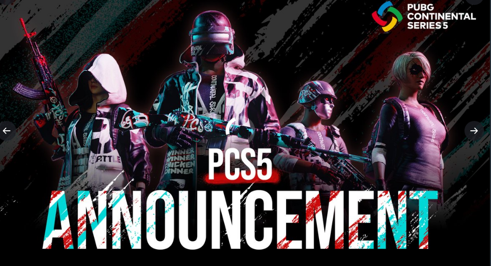 KRAFTON ANNOUNCES PUBG CONTINENTAL SERIES 5 DETAILS, INCLUDING ITS $1,000,000 TOTAL PRIZE POOL