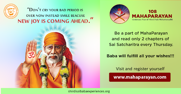 Sai's Miracles In Much Needed Time