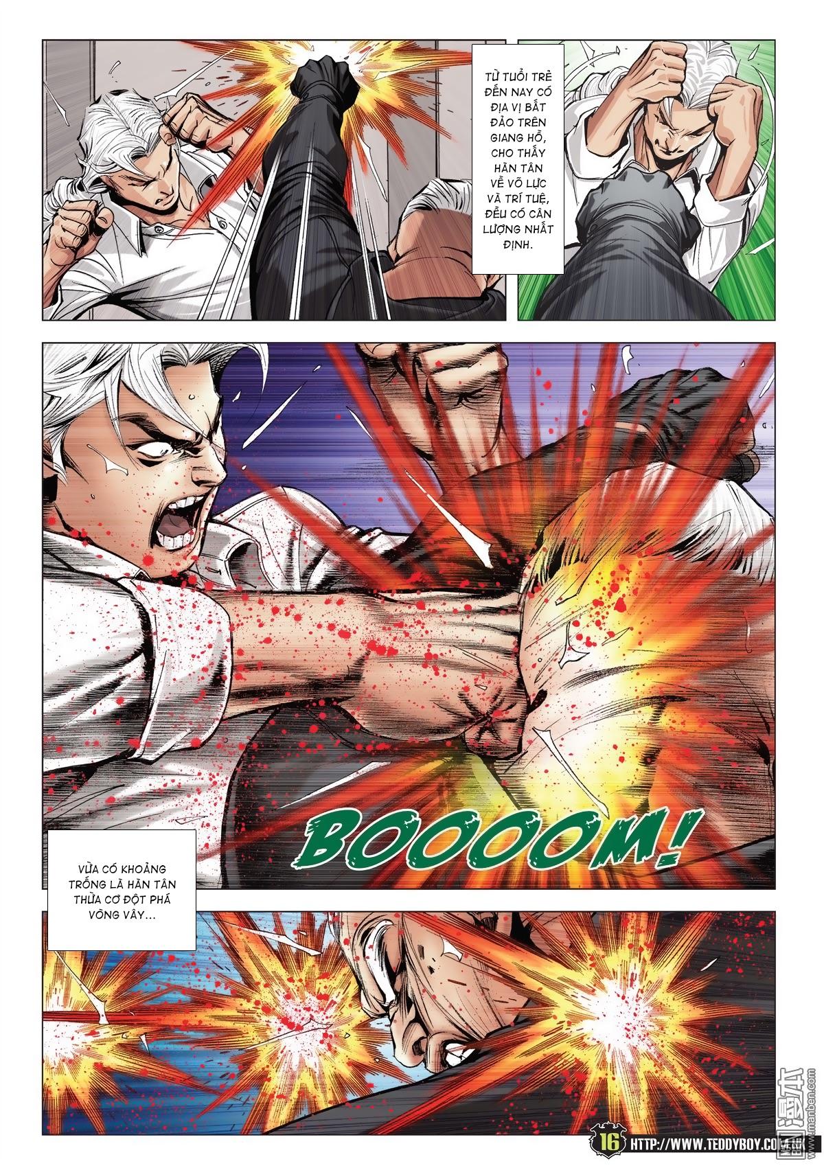 Người Trong Giang Hồ chapter 2052: hàn tân chiến thiên thu 3 trang 15