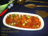 images of Vegetable Manchurian Recipe / Mixed Vegetable Manchurian With Gravy / Chinese Manchurian Recipe