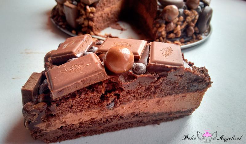 Riquísima tarta chocolatísima