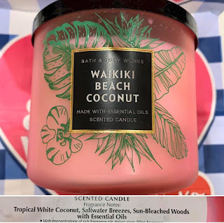 Bath & Body Works | New Tropical Living, Tropical Heat, and Quotables Candle Collections | February 2020