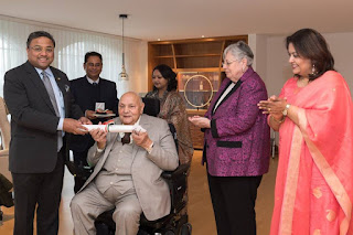 RUJ Group's Dr. Rajendra Kumar Joshi Awarded by Hon'ble President of India for his exemplary contributions