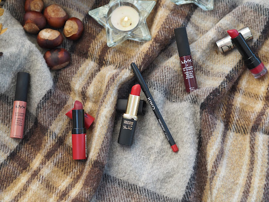 Top 5 Autumn Lipstick Picks