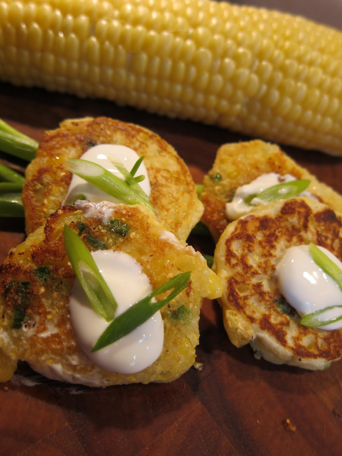 Andrea The Kitchen Witch Jalapeno Corn Cakes