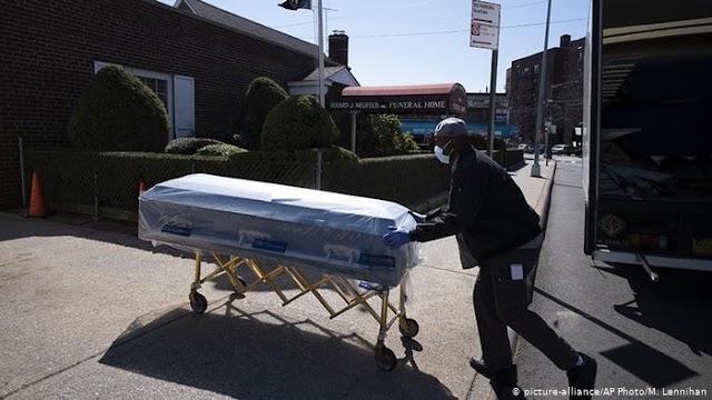 EEUU registró 1.225 nuevas muertes por coronavirus últimas 24 horas