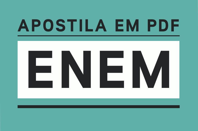 Apostila Enem 2019 PDF - Download Grátis