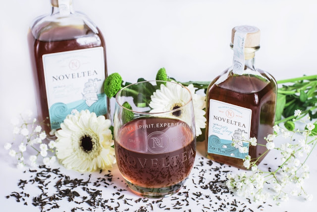 an infusion of Earl Grey tea with gin and botanicals