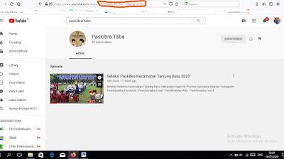 Cara Melihat ID Channel YouTube Sendiri dan Orang Lain