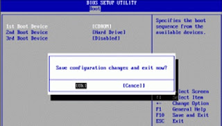 Cara Setting Bios Untuk Booting Device Pada Komputer / Laptop