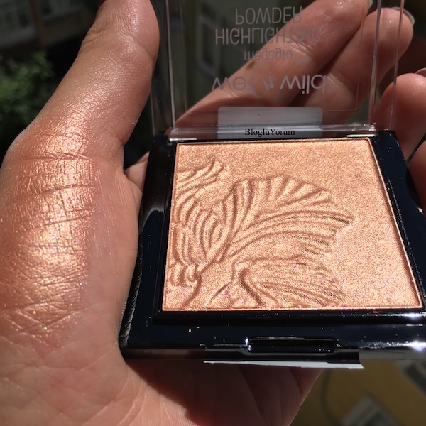 wet n wild megaglo highlighting powder aydınlatıcı e322b crown of my canopy incelemesi
