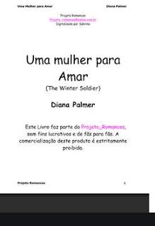 Soldados da Fortuna V - UMA MULHER PARA AMAR - Diana Palmer