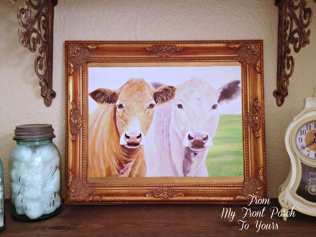 From My Front Porch To Yours- For The Love of Cows- My Cow Collection