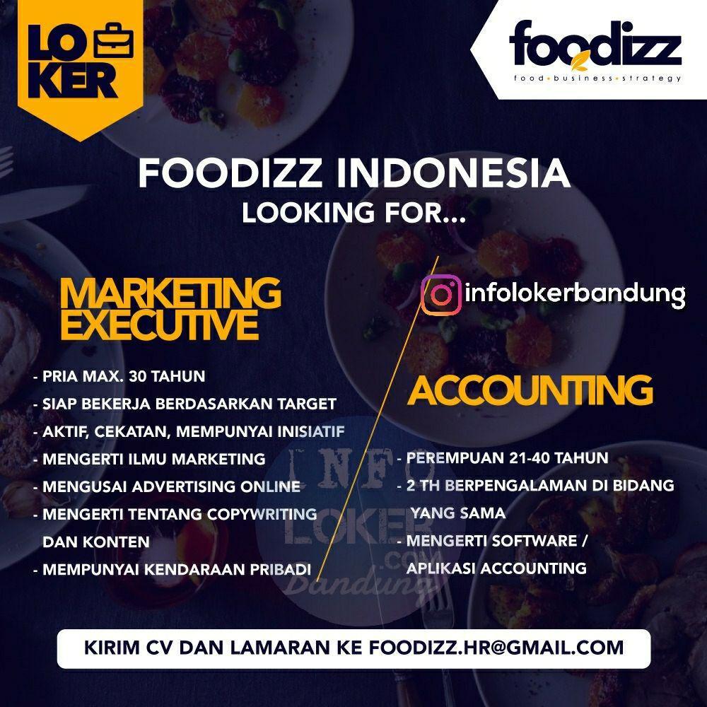 Lowongan Kerja Foodizz Indonesia Bandung Februari 2018