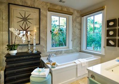 Create a Bathroom Paradise with Beach Bathroom Décor