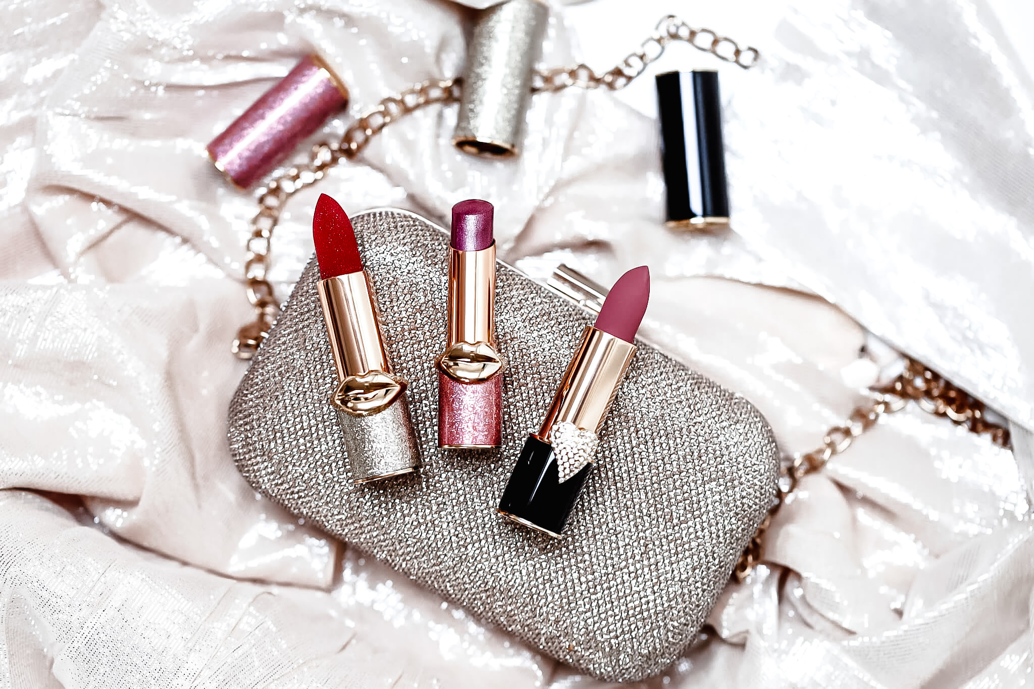 Pat McGrath BlitzTrance Revel Red MatteTrance Omi Lip Fetish Astral