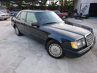 Dijual Mercedes Benz 300e A/T th89 Mobil Simpenan