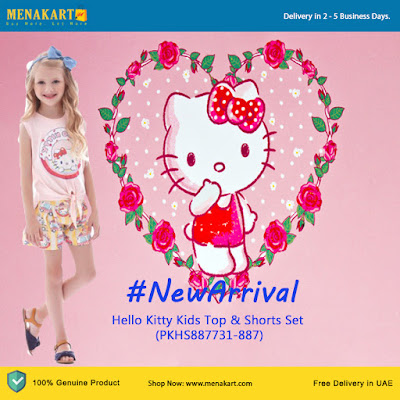 Hello Kitty Kids Top & Skirt Set