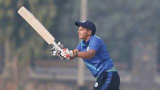 Youngest T20I debutant Shafali Verma