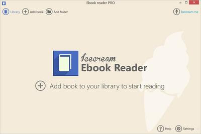 Icecream Ebook Reader Pro 5.03 Multilingual Portable