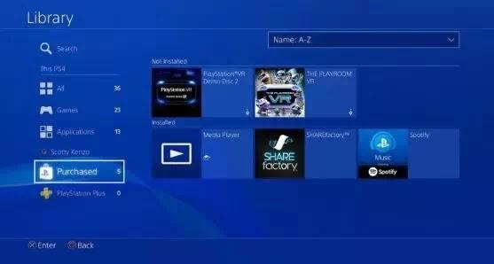 Cara menyembunyikan game di PS4-2