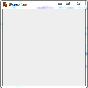 change java jframe ImageIcon