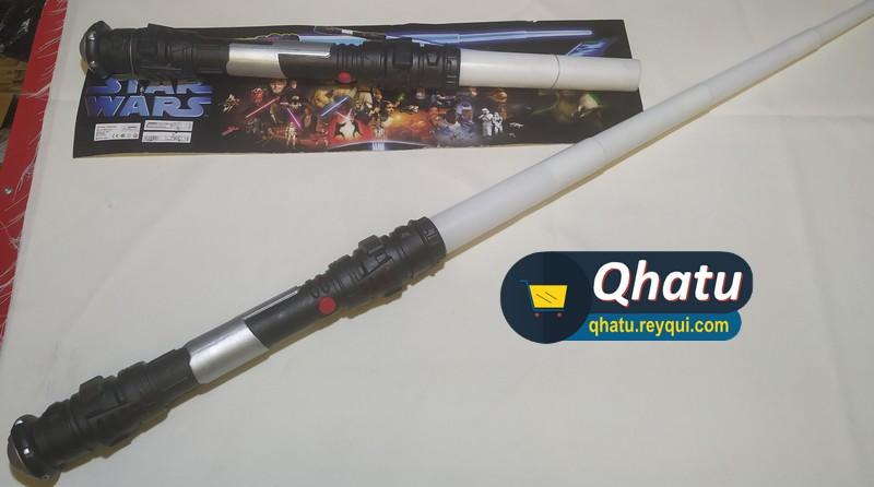 (Bs. 50) Sables de luz de Star Wars réplica