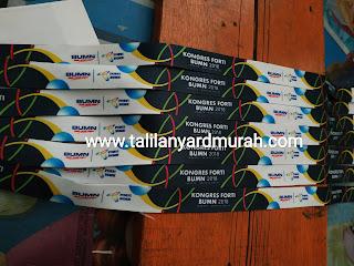 Pusat produksi tali ID card (tali lanyard) termurah Dki Jakarta