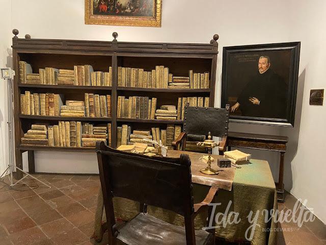 Casa Museo Lope de Vega zona de trabajo
