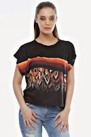 Bluza neagra din jerse B28 (Ama Fashion)