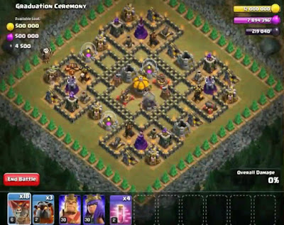58. Graduation Ceremony Goblin Base COC