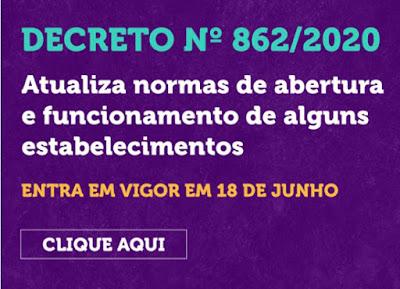 Decreto 862/2020 covid-19. Café com Jornalista