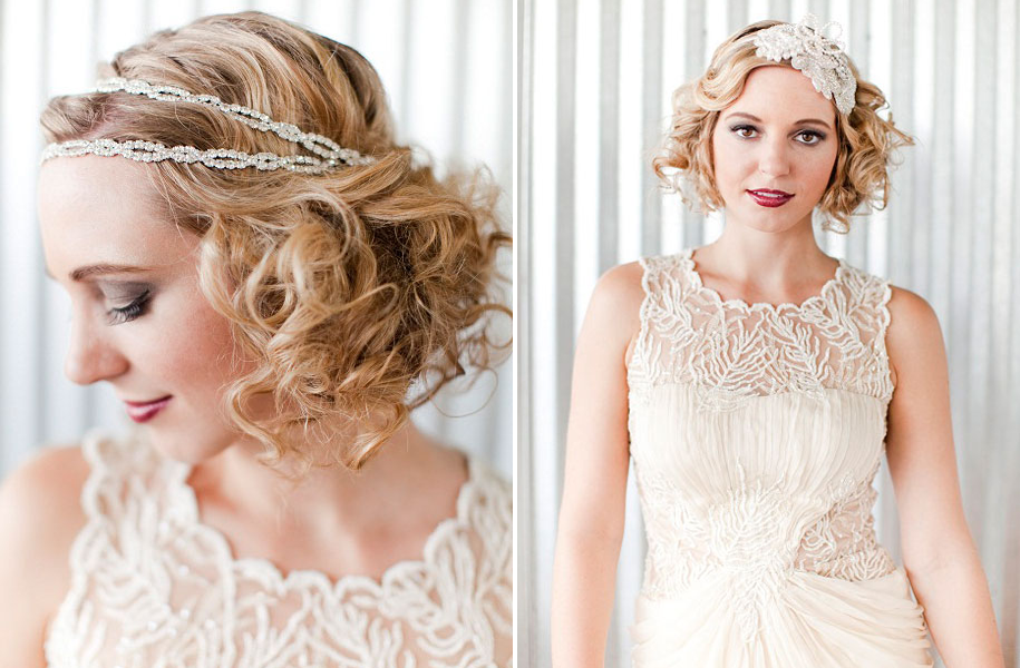 Wedding Hair Jewelry Vintage Hairstyles